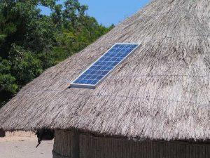 fonctionnement du panneau solaire